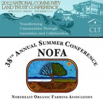 Presentations on farm preservation at NOFA and National CLT Conferences