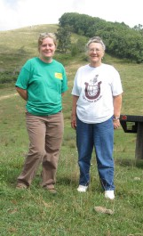 Betty and Robin on 100-Acre Field