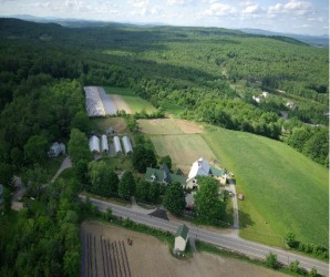 aerial picture of Dimond Hill Farm