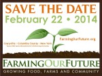 Workshop at the Farming Our Future Conference - February 22 in NY
